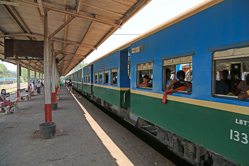 Yangon, ThamineRailway Station