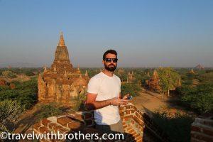 Bagan, veduta sui templi