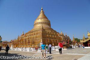 Bagan,la Shwezigon Pagoda
