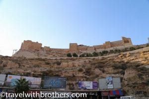 Kerak castle view, Jordan