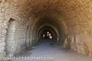 Tunnel at Kerak castle, Jordan