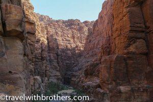 Mujib Siq trail, Jordan