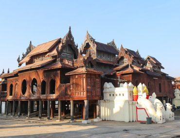 Nyaung Shwe, the Shwe Yan Pyay Monastery