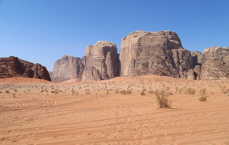 Jordan, Wadi Rum desert