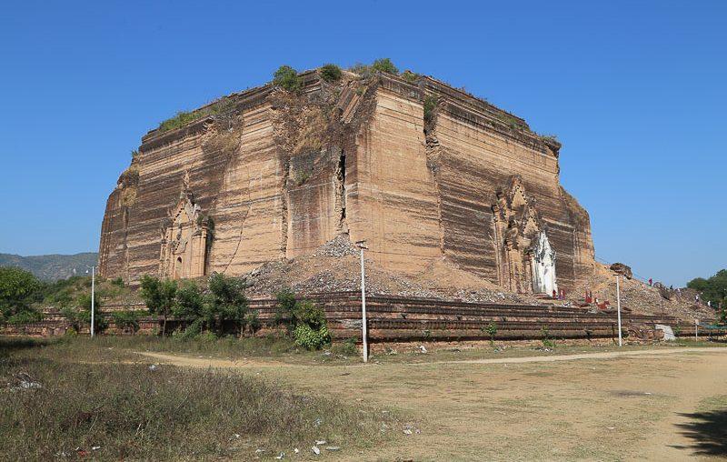 Mandalay surroundings, Mingun Paya (Mingun Pahtodawgyi)