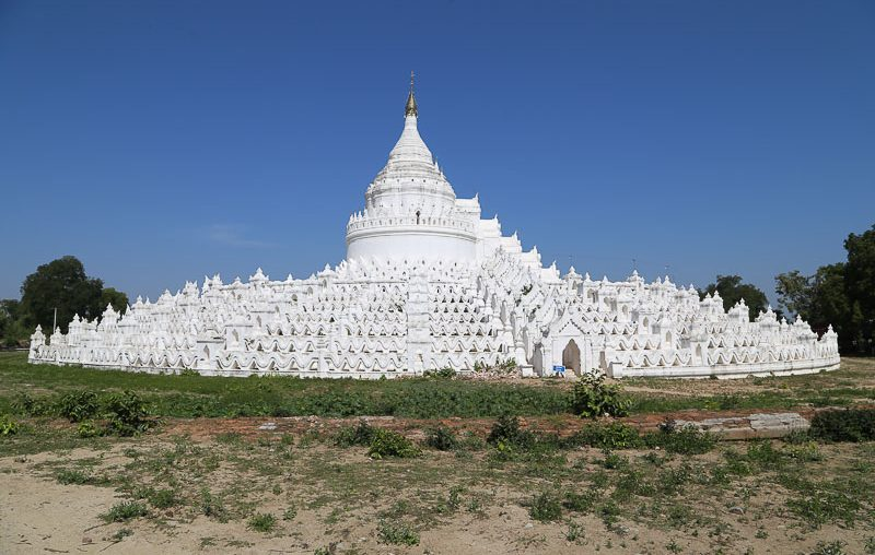 Mandalay surroundings, the Hsinbyume Pagoda