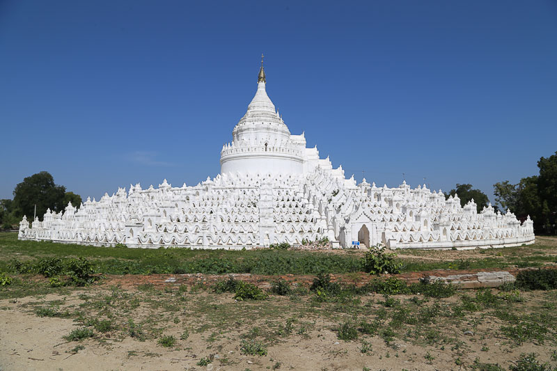 Mandalay surroundings, the Hsinbyume Pagoda