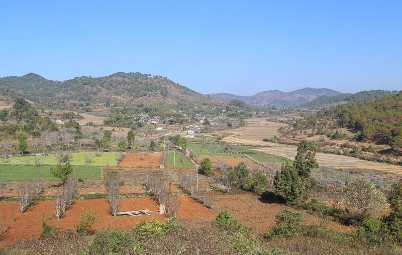 Myanmar, the green hills of Kalaw