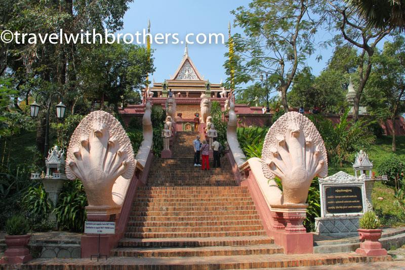 l'ingresso del Wat Phnom