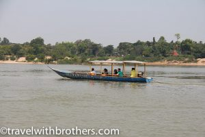Mekong river near Kratie, Cambodia