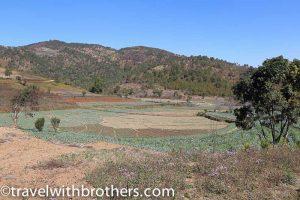 Myanmar, the green hills of Kalaw