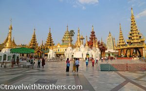 Yangon, temples around the Shwedagon Pagoda