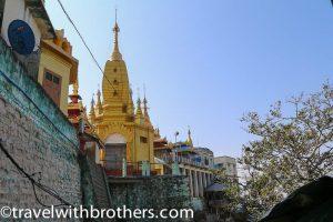 Myanmar, the Popa Taungkalat monastery