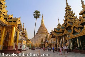 Yangon, the Shwedagon Pagoda