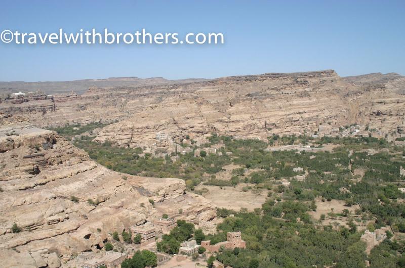 veduta del Wadi Dhar