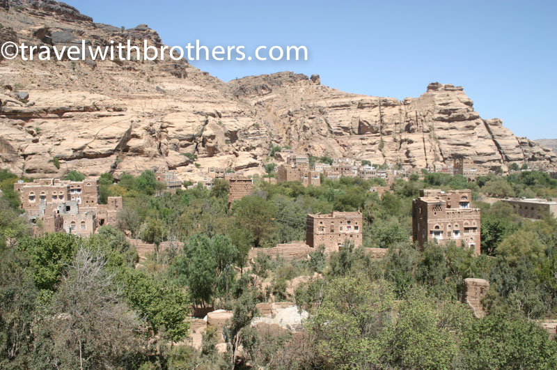 le tipiche abitazioni nel Wadi Dhar