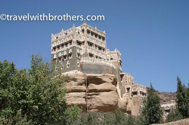 il palazzo Dar al Hajar