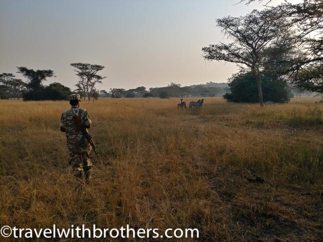 Rangers at Mburo Lake National Park, Uganda