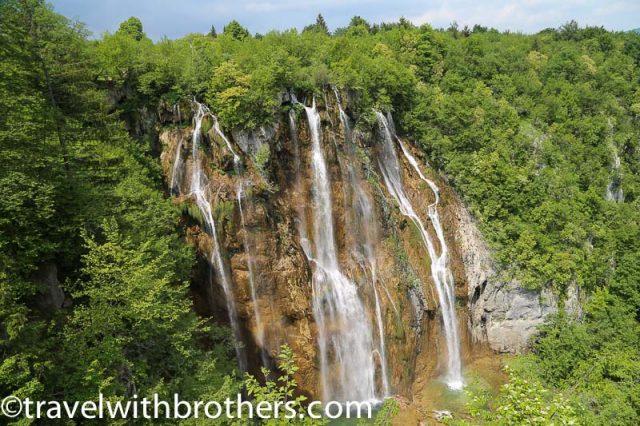Plitvice lakes, Big waterfall viewpoint