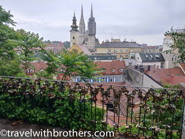 Zagreb, Strossmayer street viewpoint
