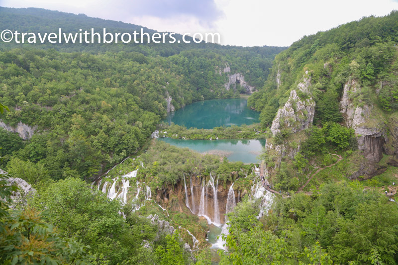 Plitvice National Park, view on the lakes Novakovica and Kaluderovic