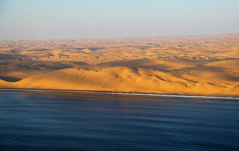 desert ocean view namibia