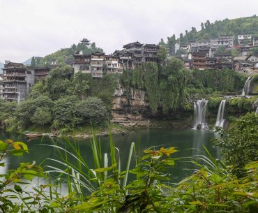 China, Furong Ancient Town: a pearl of Hunan Province