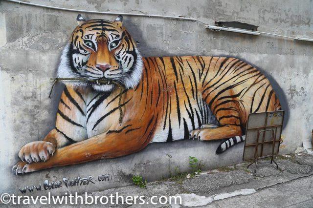 Malaysia, George Town mural artwork