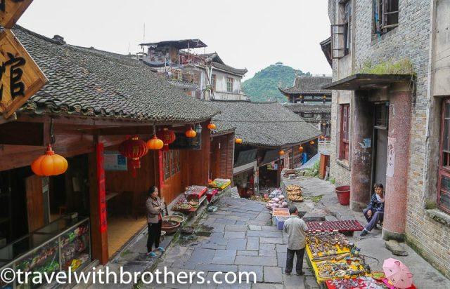 Furong town, Wulichangjie street