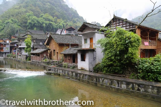 Hunan province, Dehang village