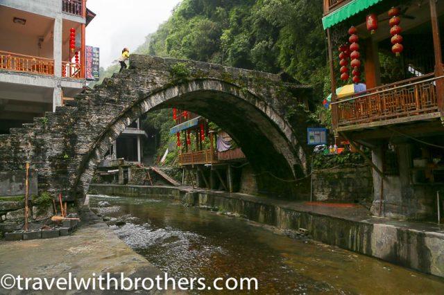 Hunan province, Dehang Jielong bridge