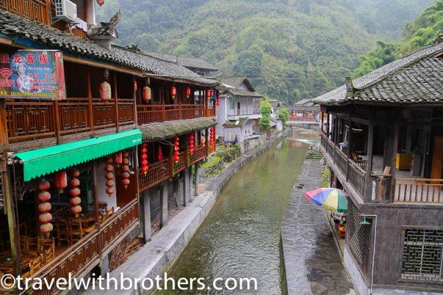 Hunan province, Dehang village stream