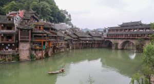 Fenghuang old town, China