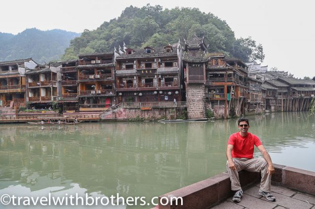 Fenghuang, ancient buildings along the river