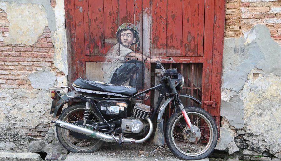 Malesia, Isola di Penang: street art a George Town