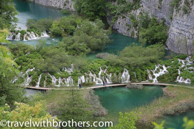 Plitvice lakes, lower lakes viewpoint