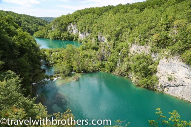 Plitvice National Park, Gavanovac and Milanovac lakes