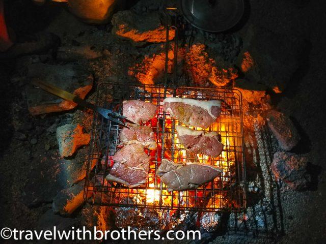 BBQ - Braai at Spitzkoppe