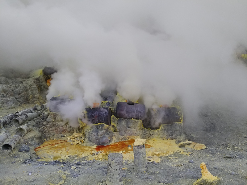 vulcano Ijen