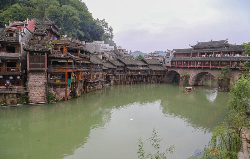 Le antiche abitazioni di Fenghuang