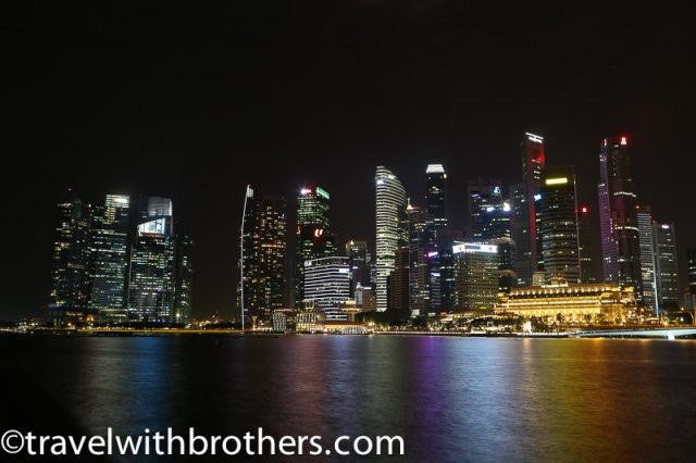 Marina bay night view, Singapore