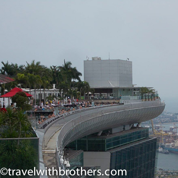 Singapore, the Marina Bay Sands pool