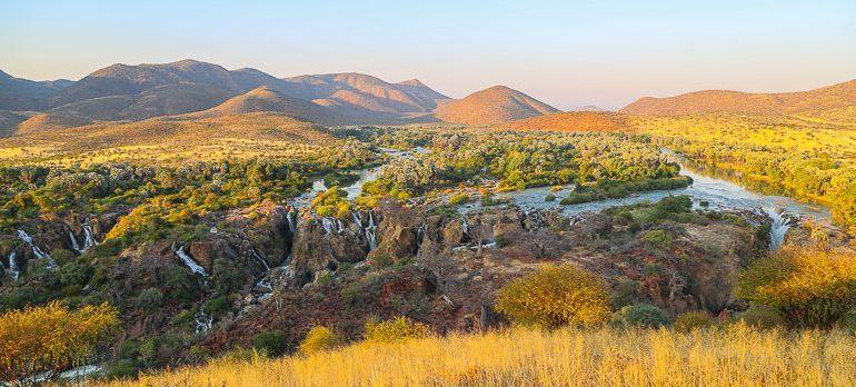 Namibia, Kunene region, Epupa falls
