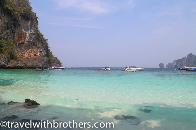 Thailand, Monkey Beach in Phi Phi Don