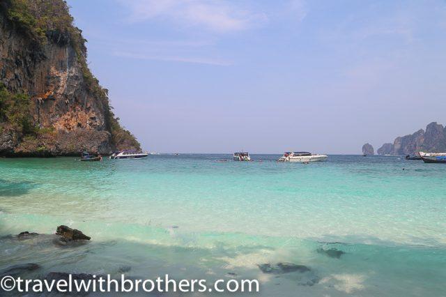 Thailand, Monkey Beach in Phi Phi Don