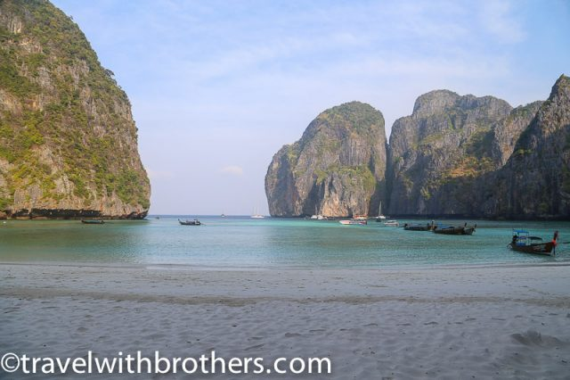 Thailand, the stunning Maya Bay in Phi Phi Leh