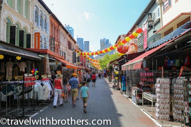 Chinatown district, Singapore