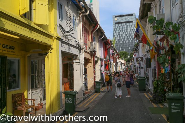 Haji lane view, Singapore