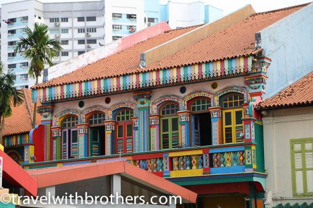 Little India in Kerbau Road, Singapore