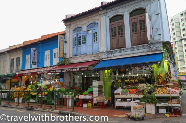Little India in Bukit Tima Road, Singapore